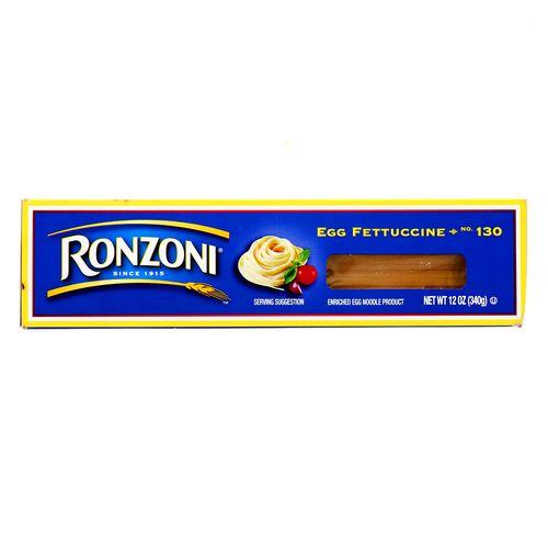 Egg Fettuccine Ronzoni 12 Oz