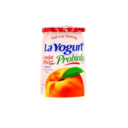 Yogurt La Yogurt Original Melocoton 6 Oz