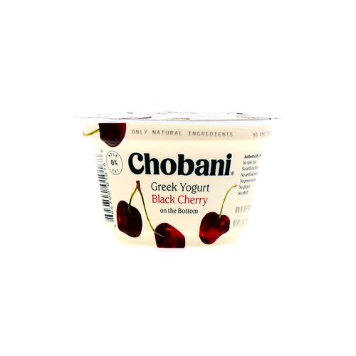 Yogurt Griego Chobani Cereza Negra 6 Oz