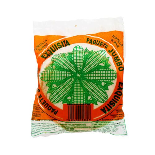 Tortillas De Maíz Exquisita Jumbo 1 Pk