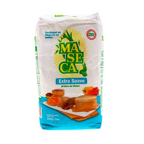 Harina De Maiz Maseca Extra Suave 2268 Gr