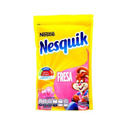Bebida En Polvo Nestle Nesquik Sabor Fresa 357 Gr