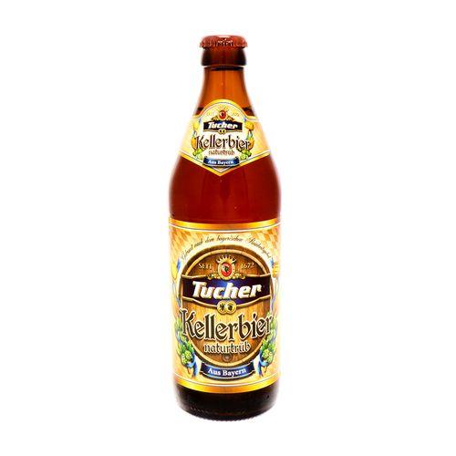 Cerveza Tucher Kellebier Naturtrub Botella 0.5 Lt