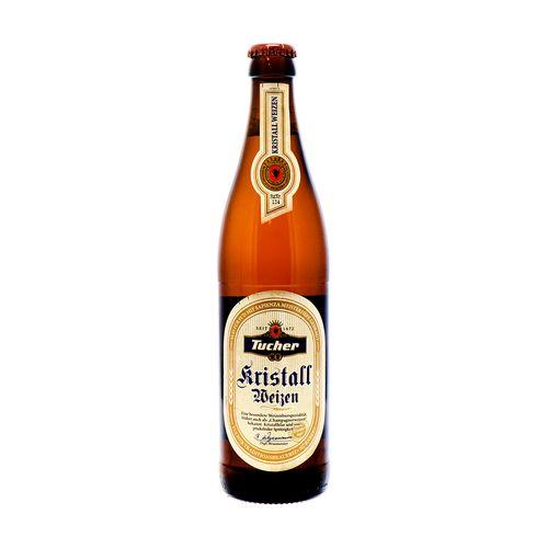 Cerveza Tucher Kristall Weizen Botella 0.5 Lt