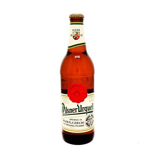 Cerveza Pislner Urquell Botella 500 Ml