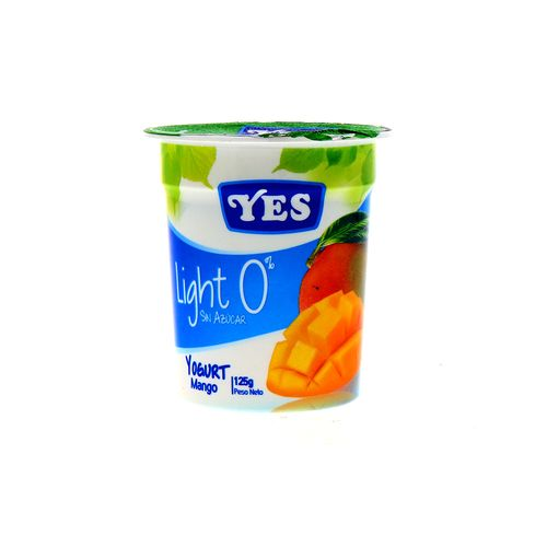 Yogurt Yes Ligth Sin Azucar Mango 125 Gr