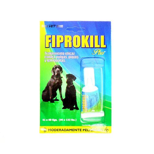 Liquido Fiprokill Contra Pulgas Piojos Y Garrapatas 4.02 Ml