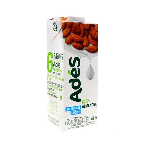 Bebida De Almendra Ades 946 Ml