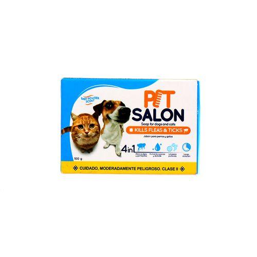 Jabón Para Perros Y Gatos Pet Salón 4En1 En Barra 100 Gr