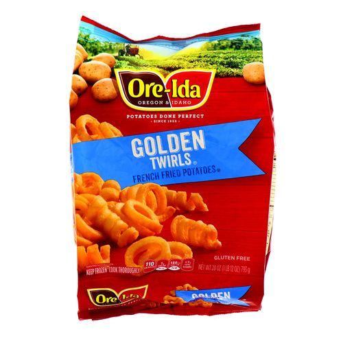 Papas Oreida Golden Twirls 28 Oz