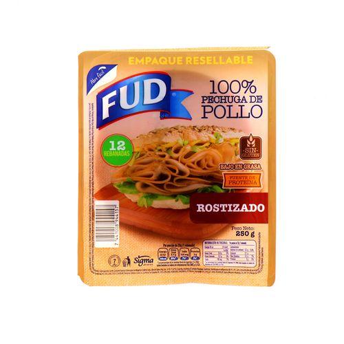 Pechuga De Pollo Fud Rostizado 250 Gr