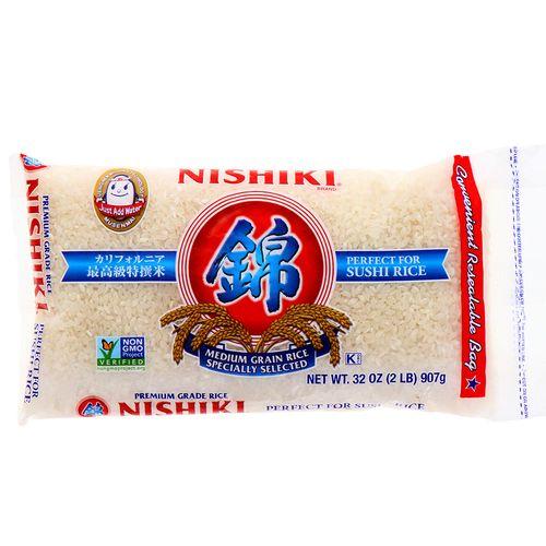 Arroz Nishiki Sushi Premium 2Lb