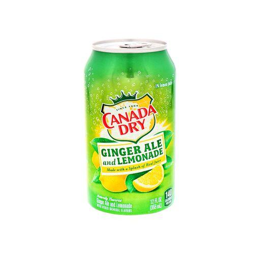 Refresco Canada Dry Ginger Sabor Lemonade 12Oz 12 Pack