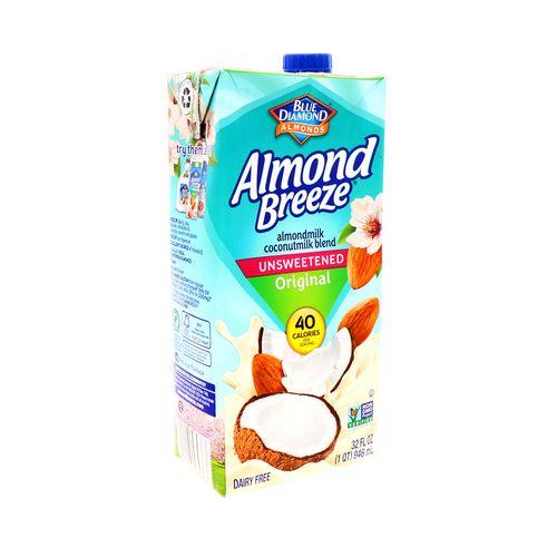 Bebida De Almendra Y Coco Blue Diamond Vainilla 32 Oz