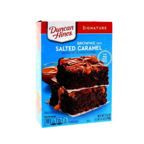 Mezcla Para Brownie Ducan Hines Caramelo Salado 17.6 Oz