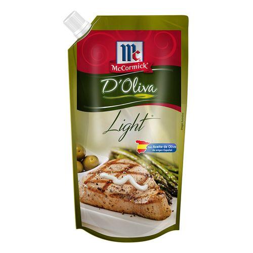 Mayonesa Mccormick De Oliva Light Doy Pack 800 Gr