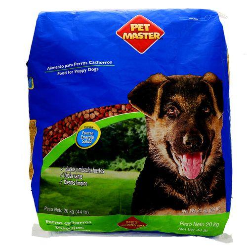 Comida Para Perro Pet Master Cachorro 20 Kg