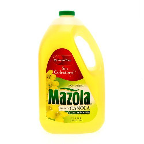 Aceite De Canola Mazola 3.780 Lt