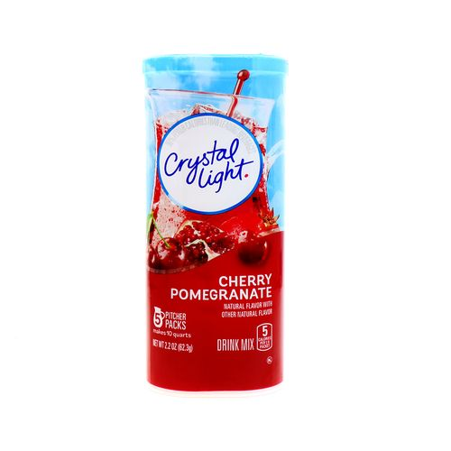 Agua Saborizada Crystal Light Cherry Pomegranate 2.2 Oz