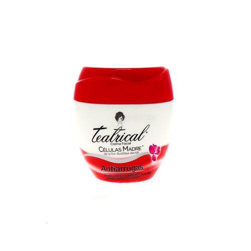 Crema Facial Teatrical Antiarrugas 100 Gr