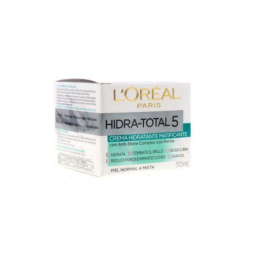Crema Facial Loreal Matific Hidra-Total5 50 Ml