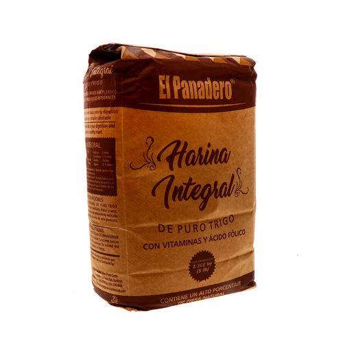 Harina De Trigo El Panadero Integral 5 Lb