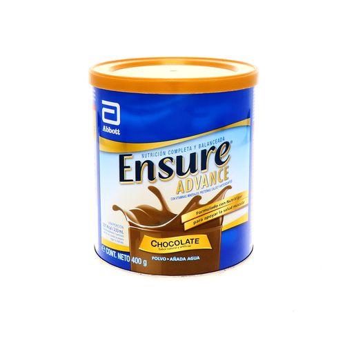 Complemento Alimenticio Ensure Advance Chocolate 400 Gr