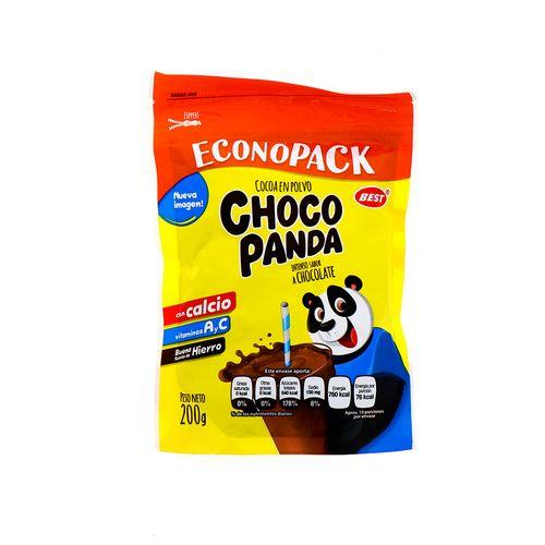 Cocoa En Polvo Choco Panda Chocolate 200 Gr