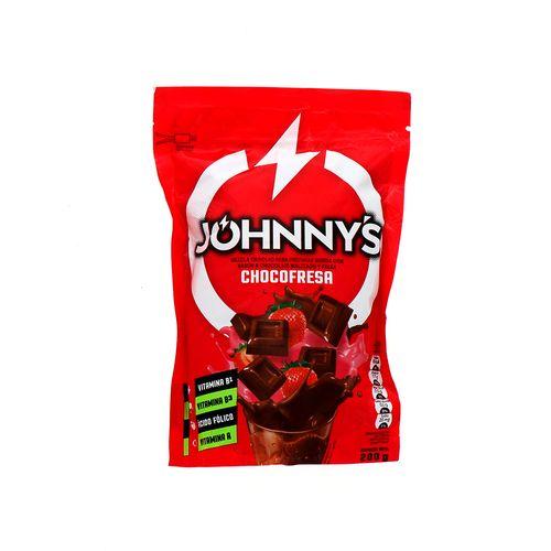 Mezcla En Polvo Johnnys Chocofresa 200 Gr