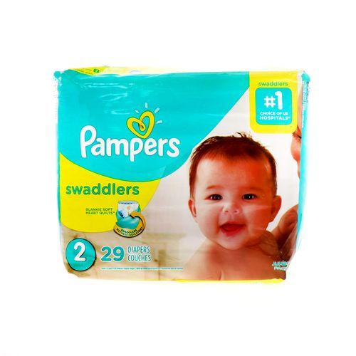 Pañal Bebe Pampers Swaddlers 2 29 Un