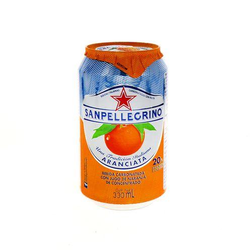 Bebida San Pellegrino Aranciata 330 Ml