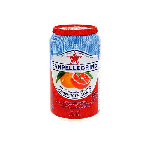 Bebida San Pellegrino Aranciata Rossa 330 Ml