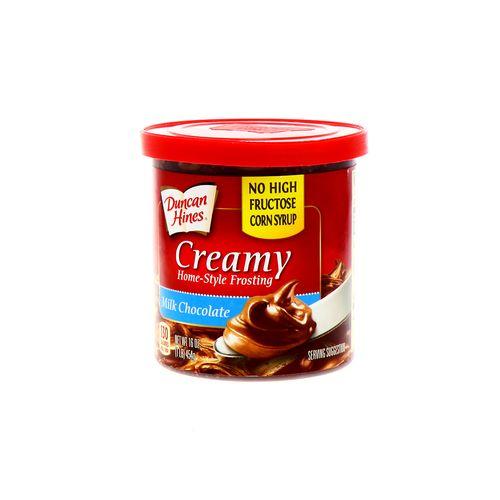Glaseado Duncan Hines Milk Chocolate 16 Oz