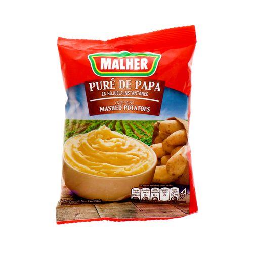 Pure De Papa Malher Instantánea En Hojuela 100 Gr