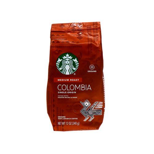 Café Starbucks Colombia Medium Roast 12 Oz