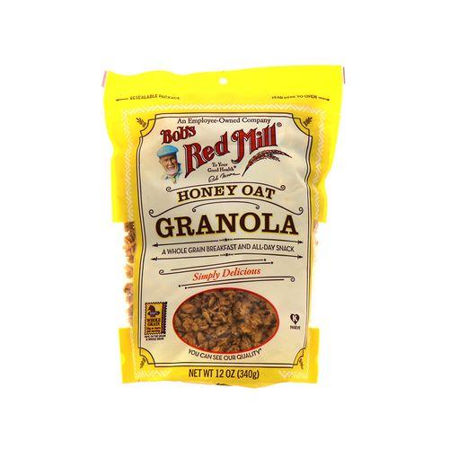 Granola Bobs Red Mill Honey Oat 12 Oz