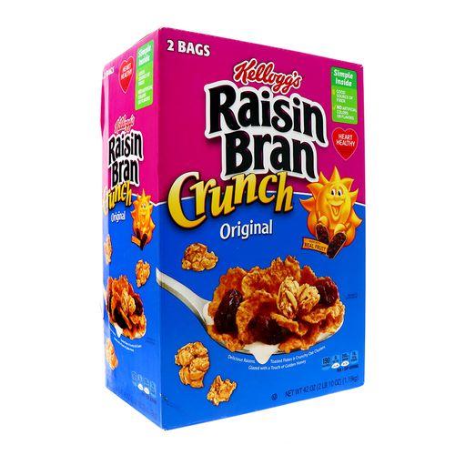 Cereal Kelloggs Raisin Bran Crunch 42 Oz