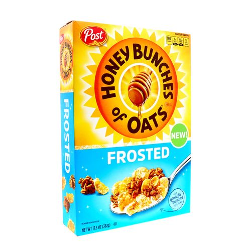 Cereal Post Honey Bunches Of Oats Frosted 13.5 Oz