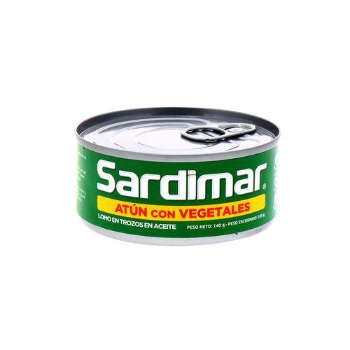 Atún Sardimar En Aceite Con Vegetales 140 Gr