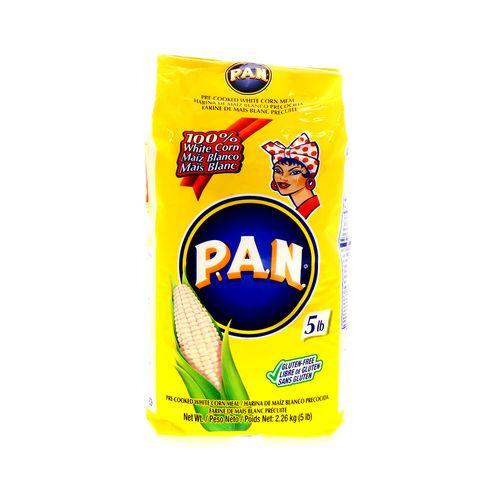 Harina De Maíz Pan Blanco 5 Lb