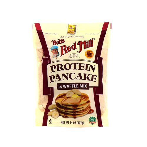 Mezcla Para Panqueque Y Wafle Bobs Red Mill Protein 14 Oz
