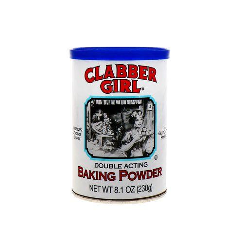 Soda Para Hornear Clabber Girl Doble Efecto 10 Oz