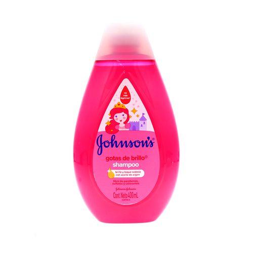 Shampoo Johnsons Baby Gotas Brillo 400 Ml