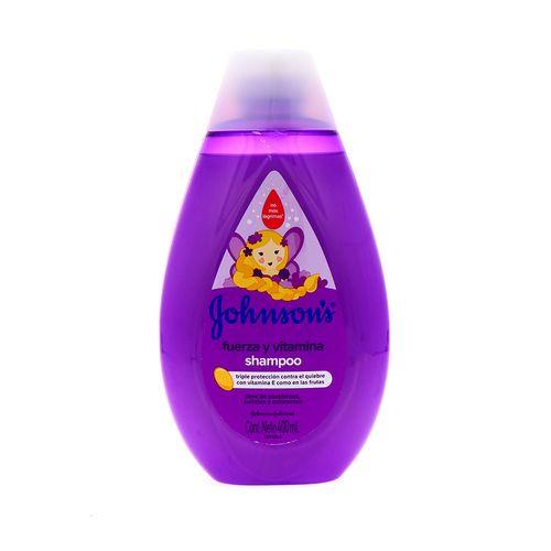 Shampoo Johnsons Baby Fuerza Y Vitamina 400 Ml