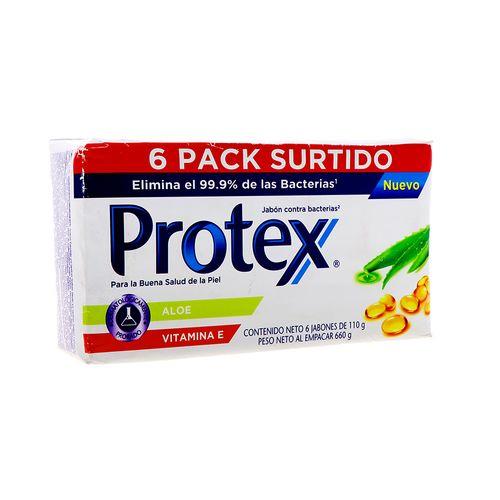Jabón de Tocador Antibacterial Protex Mix 110 g 6 Pack