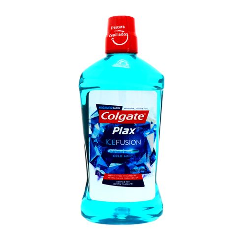 Enjuague Bucal Colgate Plax Ice Fusión Cold Mint 1 Lt
