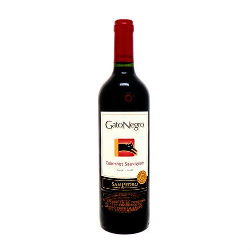 Vino Tinto Gato Negro Cabernet Sauvignon 750 Ml