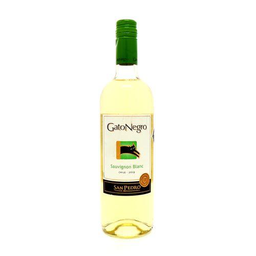 Vino Blanco Gato Negro Sauvignon 750 Ml