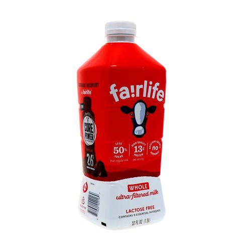 Leche Fairlife Ultra filtrada Entera Sin Lactosa 52 Oz