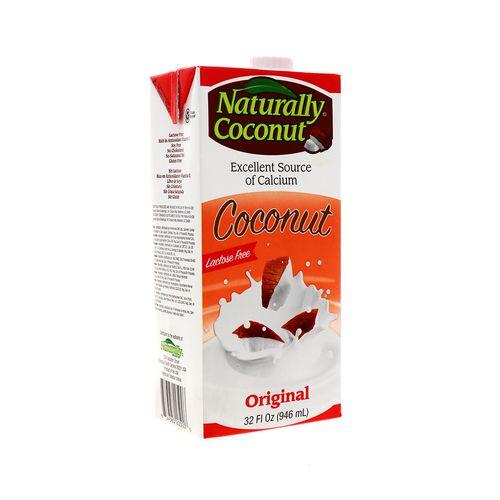 Leche De Coco Naturally Sin Lactosa Original 946 Ml